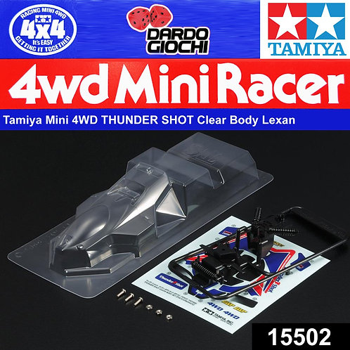 Thunder Shot Clear Body Set ( Polycarbonate ) ITEM 15502