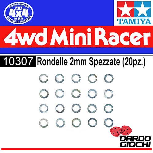 MINI 4WD 2mm SPRING WASHER (20pcs) ITEM 10307