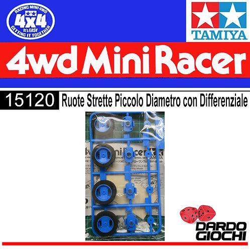 RUOTE STRETTE PICCOLO DIAMETRO CON DIFFERENZIALI ITEM 15120