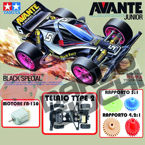AVANTE BLACK SPECIAL (Type2 Chassis) ITEM 95501