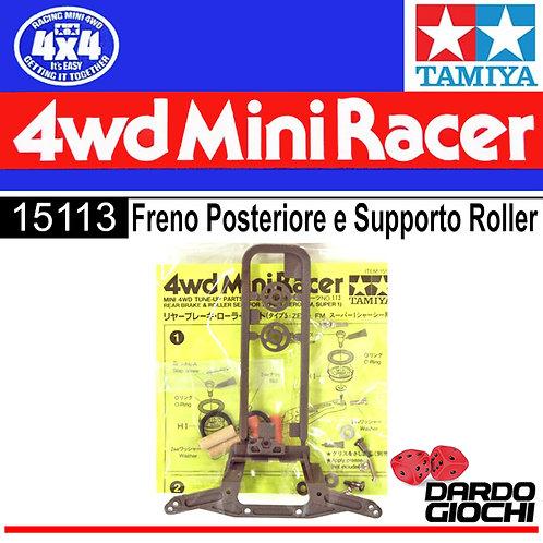 FRENO POSTERIORE E SUPPORTO ROLLER ITEM 15113