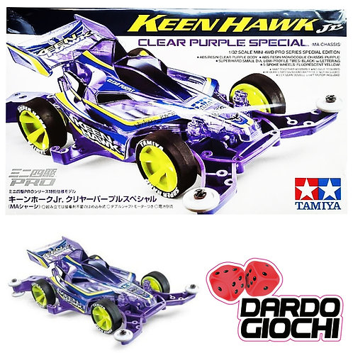 Keen Hawk Jr. Clear Purple Special (MA CHASSIS) ITEM 95399
