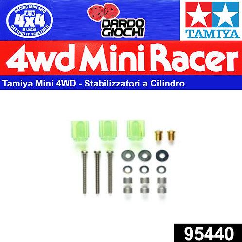 HI-Mount Tube Stabilizer Set (Clear Green) ITEM 95440
