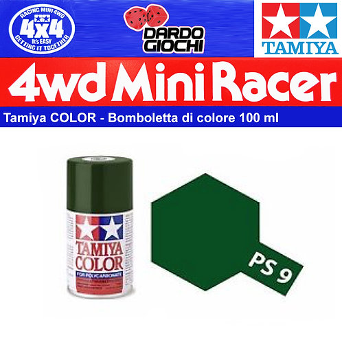 Spray For Polycarbonate  Green PS-9