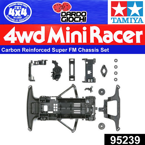 Carbon Reinforced Super FM Chassis Set ITEM 95239