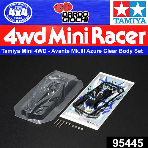 AVANTE MK.III AZURE Clear Body Set ITEM 95445