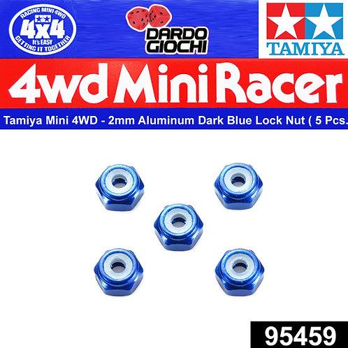 2mm Aluminium Lock Nut (Dark Blue, 5pcs.) ITEM 95459