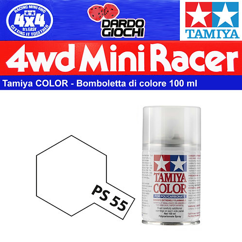 Tamiya TS-13 CLEAR Bomboletta Vernice Spray 100ml 85013 New