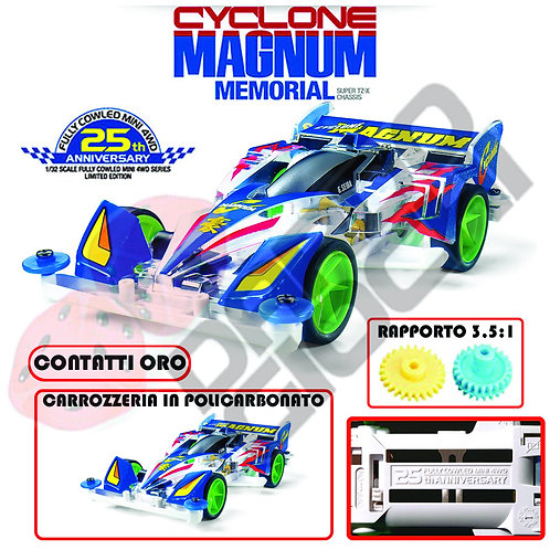 CYCLONE MAGNUM Memorial 25th Anniversary (TZ-X Chassis) ITEM 95126