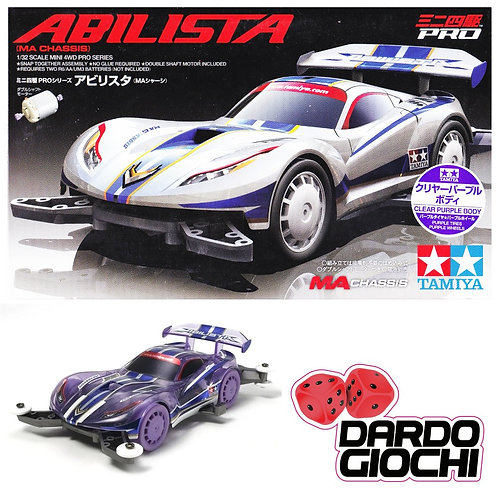 ABILISTA MA Chassis clear purple body ITEM 95218