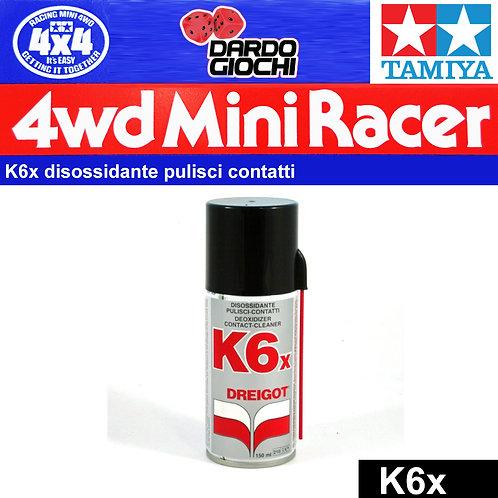 K6x disossidante ,pulisci contatti