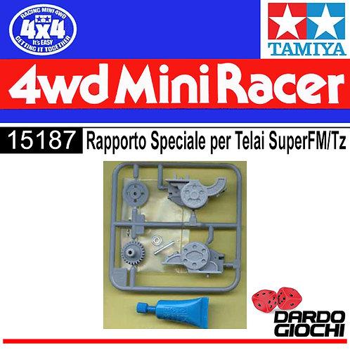 RAPPORTO SPECIALE PER TELAI SUPER FM/TZ ITEM 15187