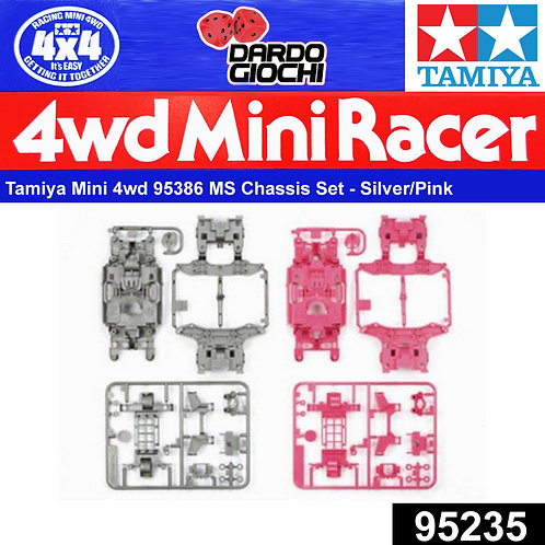 MS Chassis Set ( silver/pink) ITEM 95235