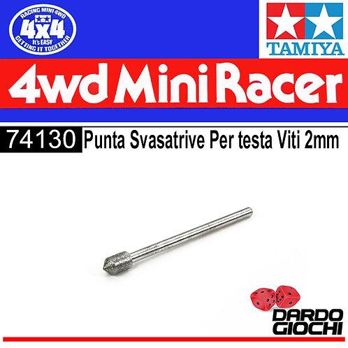 Craft Tools ( Punta Svasata Testa Vite 2mm ) ITEM 74130