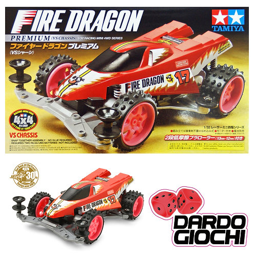 FIRE DRAGON PREMIUM (VS CHASSIS) ITEM 18072
