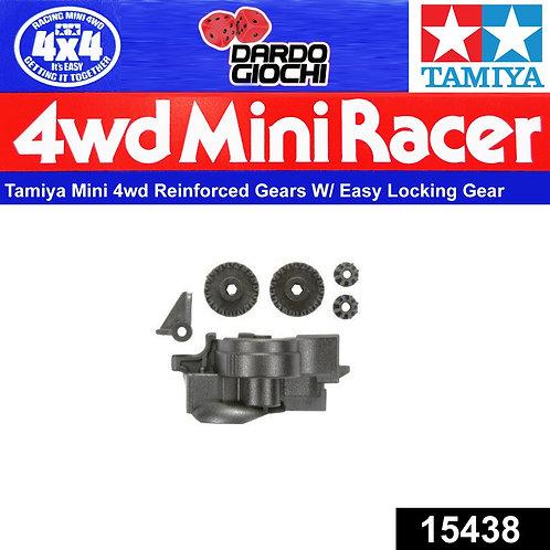 Reinforced Gears w/Easy Locking Gear Cover ITEM 15438