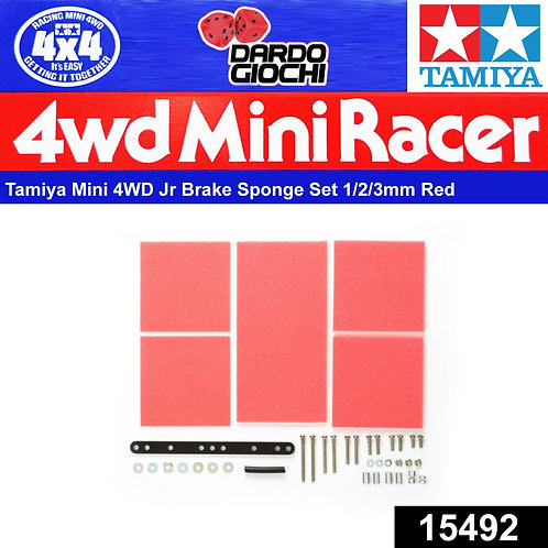 Brake Sponge Set ( 1/2/3mm Red ) ITEM 15492