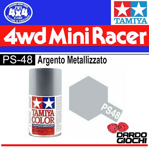 PS-48 SPRAY PER POLICARBONATO ARGENTO METALLIZATO
