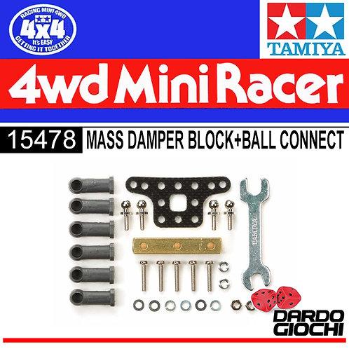 Mass Damper Set w/Ball Connectors (Block Weight) ITEM 15478