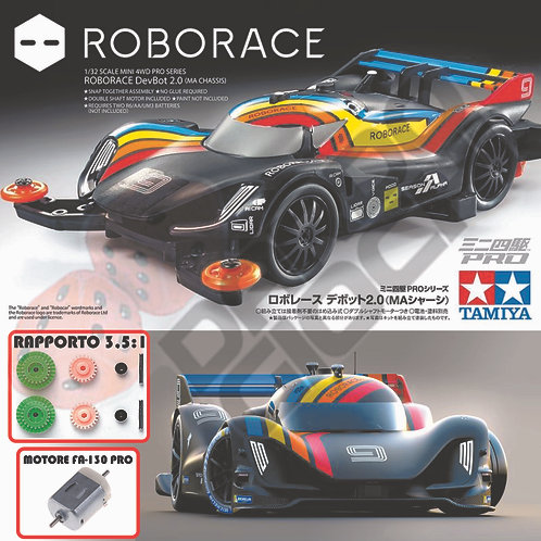 ROBORACE MA Chassis ITEM 18656