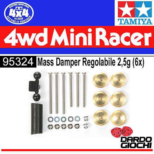 Adjustable Mass Dampers ( 2.5g Weights x 6 ) ITEM 95324