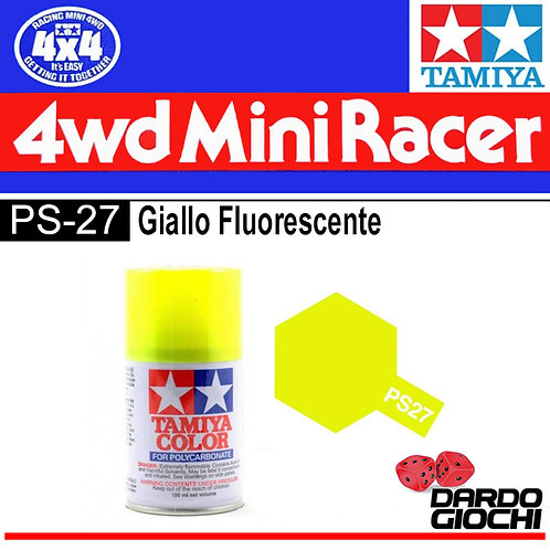 PS-27 SPRAY PER POLICARBONATO GIALLO FLUORESCENTE