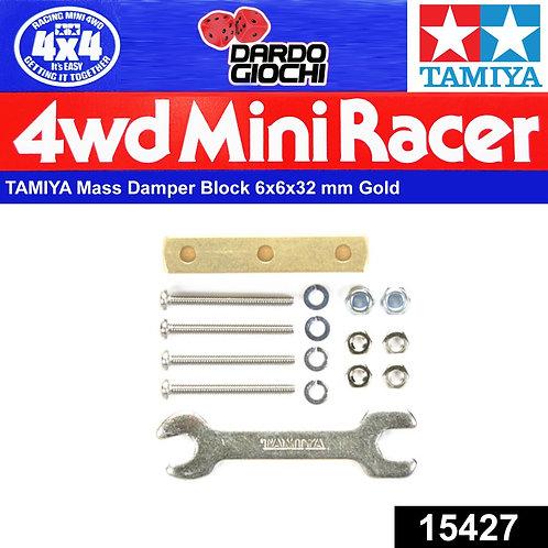 Mass Damper Block ( 6x6x32mm ) ITEM 15427