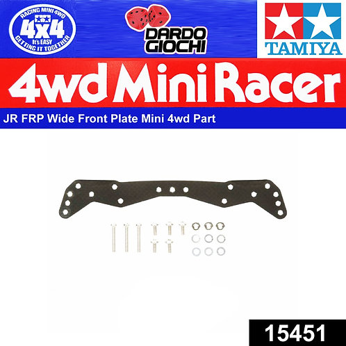 FRP Wide Front Plate (for AR Chassis) ITEM 15451