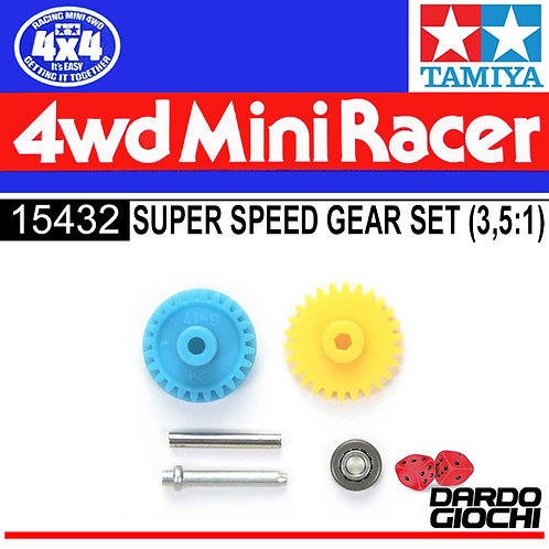 SUPER SPEED GEAR SET (For SuperXX-Super II Chassis) ITEM 15432