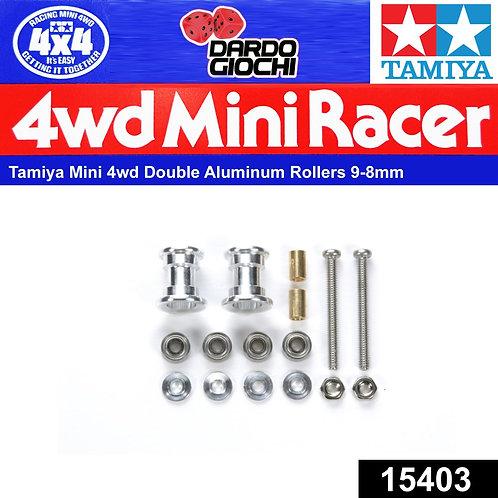Double Aluminum Rollers ( 9-8 mm) ITEM 15403