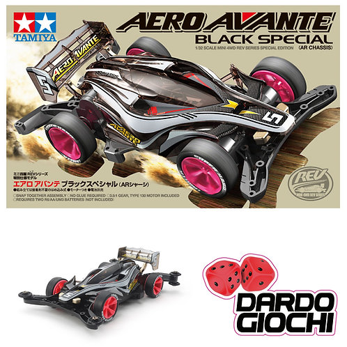 Mini 4wd '' AVANTE BLACK SPECIAL'' AR.  ITEM 95376
