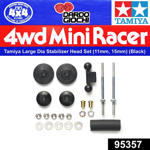 Large Dia. Stabilizer Head Set (11mm, 15mm) (Black) ITEM 95357