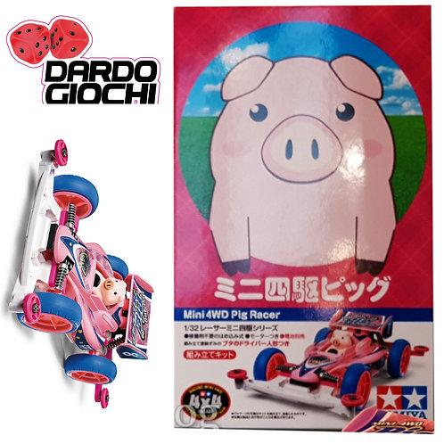 Mini 4Wd ''PIG RACER SuperII''.  ITEM 18089