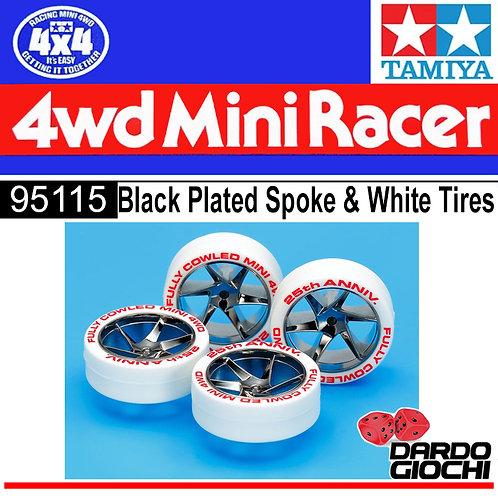 White Tires & Black Plated Wheels 25th Anniv. ITEM 95115