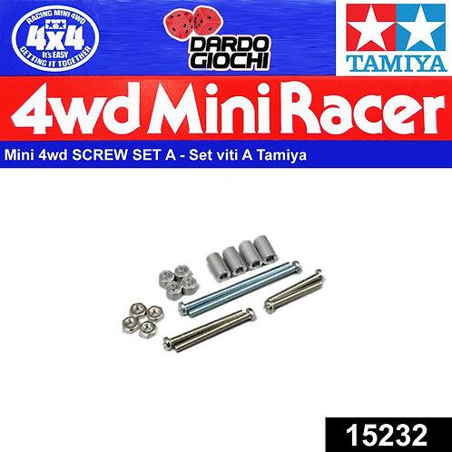 Mini 4WD Screw Set A ITEM 15232