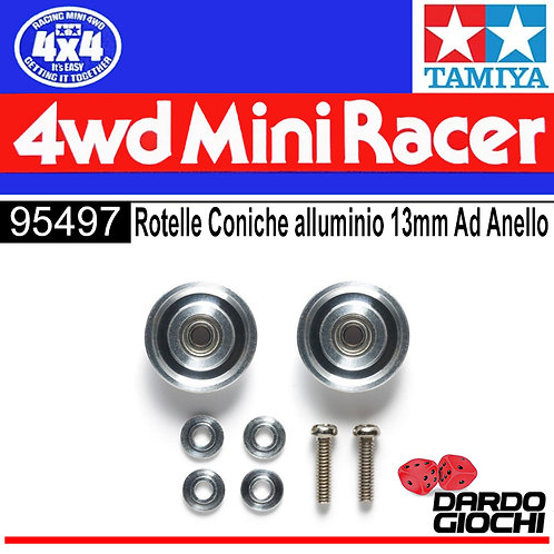 HG 13mm Tapered Aluminium Ball-Race Rollers (Ringless) ITEM 95497