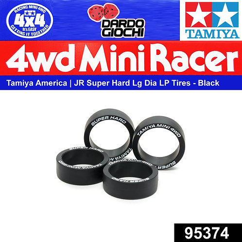 Super Hard Large Dia. Low-Profile Tires ( Black ) ITEM 95374