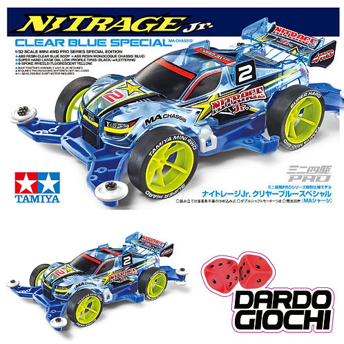 NITRAGE Jr. Clear Blue Special (MA CHASSIS) ITEM 95398