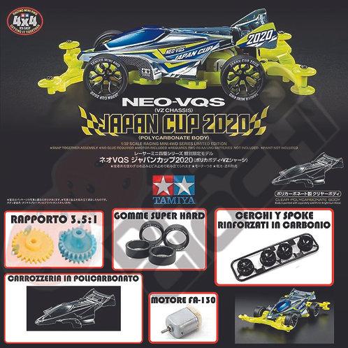 MINI 4WD NEO-VANQUIS (carrozzeria policarbonato) JAPAN CUP 2020 ITEM 95130