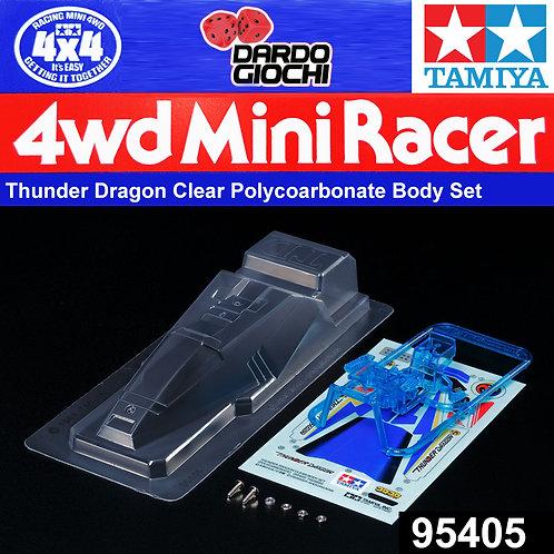 Thunder Dragon Clear Body Set (Polycarbonate) ITEM 95405