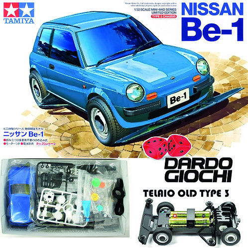 Nissan BE-1 Blue Version (Type 3 Chassis) ITEM 95477