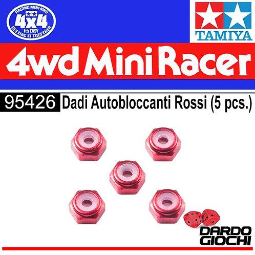 2mm Alluminum Lock Nut (pink, 5pcs) ITEM 95426