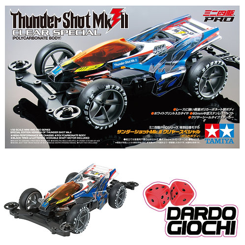 THUNDER SHOT MKII Clear Special (MSL Chassis) ITEM 95463