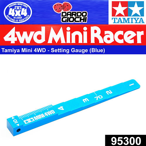 MINI 4WD SETTING GAUGE(BLUE) ITEM 95300