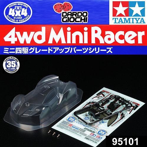 Mini 4WD 35th Anniversary Festa Jaune L Clear Body Set ITEM 95101