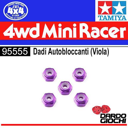 2mm Aluminum Lock Nut (Purple ,5pcs.) ITEM 95555