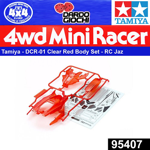 DCR-01 Body Parts Set (Clear Red) ITEM 95407