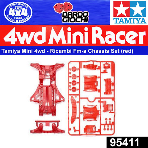 FM-A Chassis Set (Red) ITEM 95411