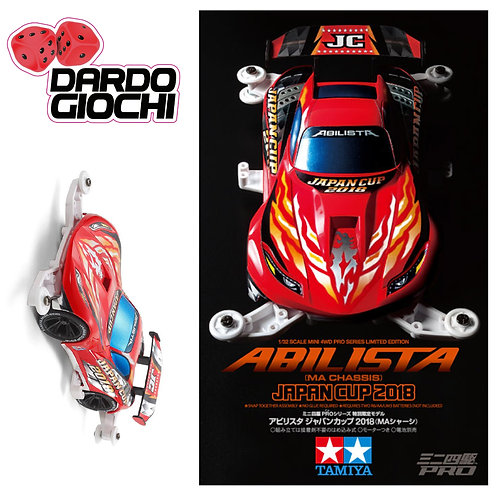 ABILISTA JAPAN CUP 2018 (MA CHASSIS) ITEM 95109