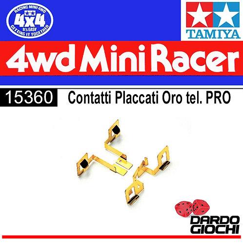CONTATTI PLACCATI ORO PER PRO (MS CHASSIS) item 15360